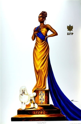 Elegance Sigma Gamma Rho By Wak Kevin A Williams 24x36