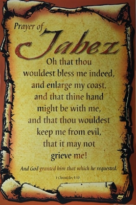Prayer Of Jabez 24x36 Art Print Poster African American