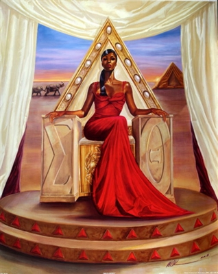 Delta Queen By Wak Kevin A Williams 24x30 Black Art Print