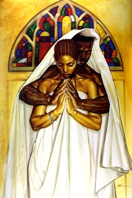 Pray Together Stay Together By Wak Kevin A Williams 24x36